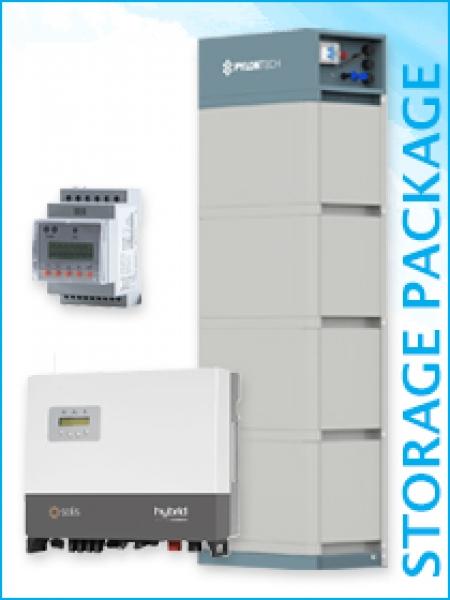 Solis + Pylontech Hochvolt Speicherpaket 10kW / 14,2 kWh